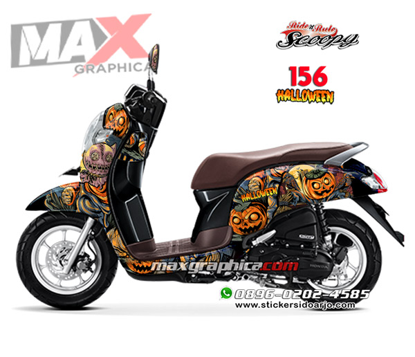 sticker decal scoopy maxgraphica cutting sticker sidoarjo